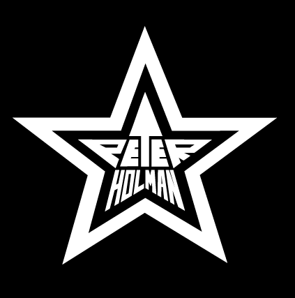 Peter Holman Logo White on Black